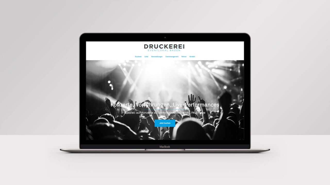 Druckerei Website